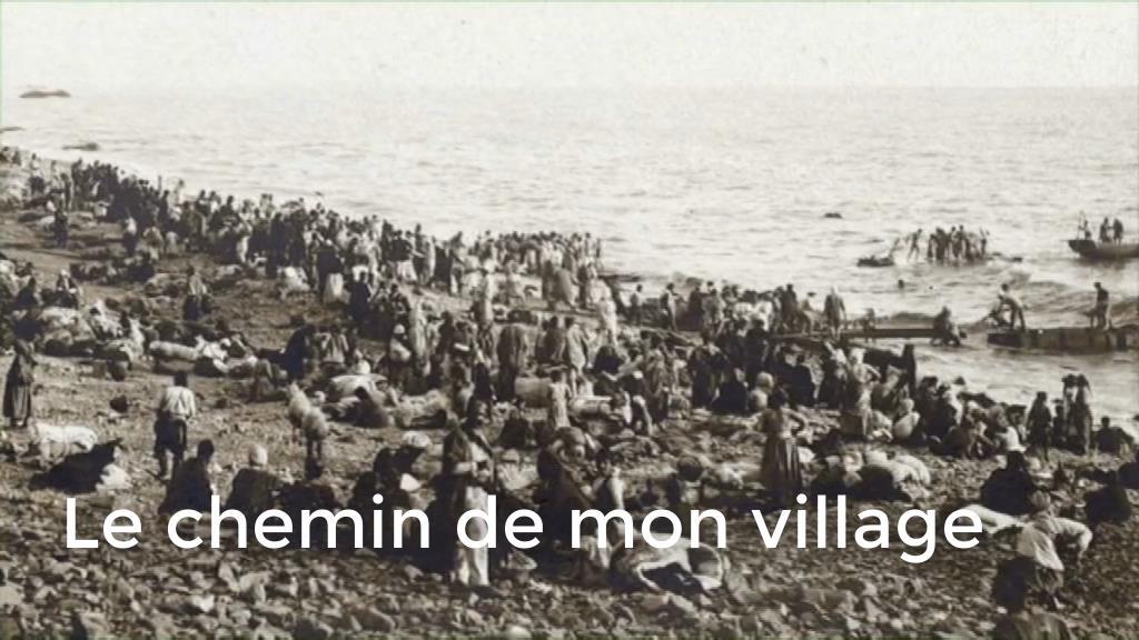 Le chemin de mon village